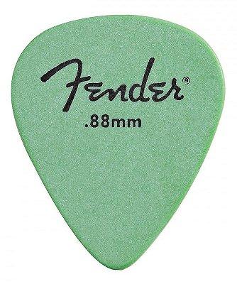 Kit Palhetas Fender Rock-On! Tourning Medium/Heavy Green 12pçs