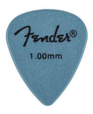 Kit Palhetas Fender Rock-On! Tourning Heavy Blue 12pçs