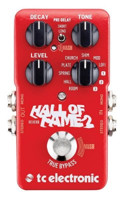 Pedal de Efeitos Tc Electronic Hall of Fame 2 Reverb