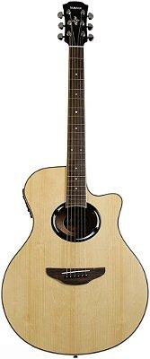Violão Yamaha APX500 III NT Ativo Folk Natural