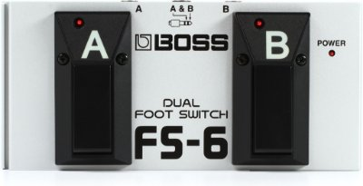 Pedal Boss FS-6 Footswitch  Dual Foot