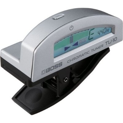 Afinador Digital Boss TU-10 Clip On Silver