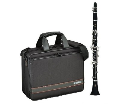 Clarinete  Yamaha YCL-255 Bb 17 Chaves