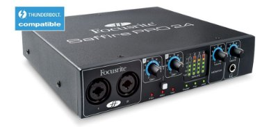 Interface de Áudio Focusrite saffire Pro-24