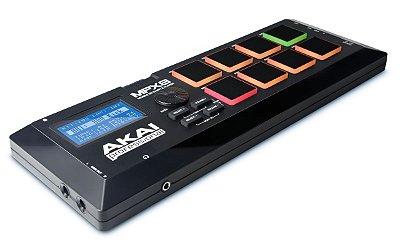 Controlador Akai Professional MPX8 Sample Player Portátil