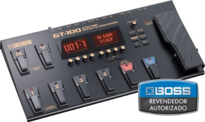 Pedaleira Boss GT-100 Effects Processor