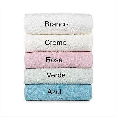 Jogo de banho- toalhas Karsten- Versati Dora -2 peças- Azul e Rosa