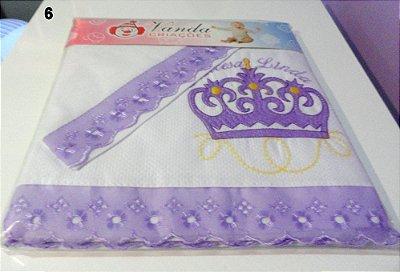 Jogo de Lençol Infantil 3 peças(lençol, virol e fronha).