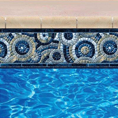 Faixa Adesiva de Piscina 2m x 20cm Design Bimisline