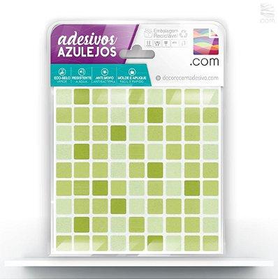 Adesivo de Azulejo Ladrilho Verde Nutri Mix