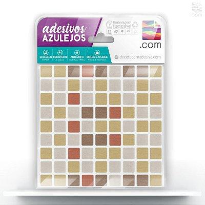 Adesivo de Azulejo Mix Bege Nude