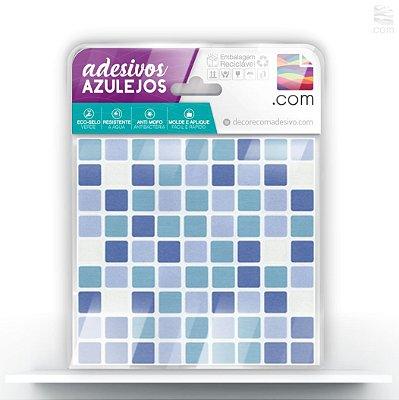Adesivo de Azulejo Pastilha Azul Bebe