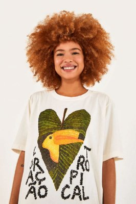 Camiseta Farm T-shirt Coracao - 297049