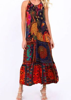 Vestido Tecido Farm Cropped Beleza Mix - 296050