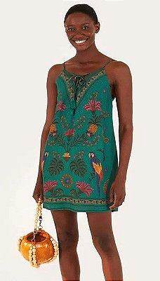 Vestido Farm Tapecaria Tropical - 296022
