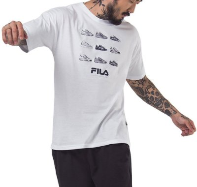 Camiseta Malha Fila Disruptor - F11L518143