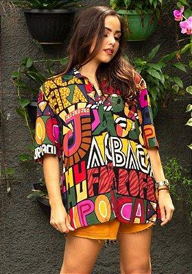 Camisa Farm Nossa Lingua - 286561