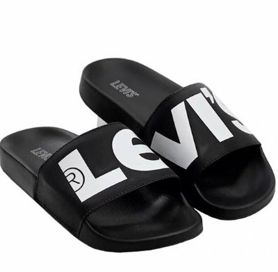Chinelo Levis Slide Super Sized Levi's Logo - LBF110035