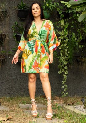 Vestido Farm Floresta de Caju - 289427