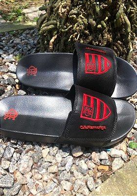 Chinelo Flamengo Slide Escudo - FLA0237