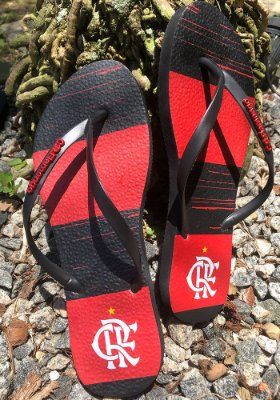 Chinelo Flamengo Slim Manto - FLA0249
