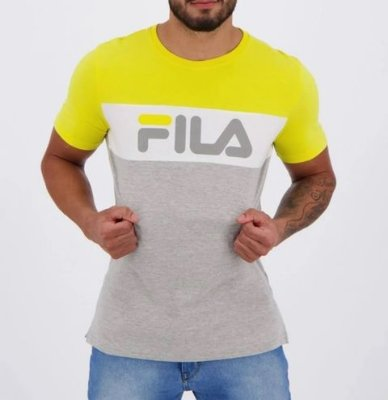 Camiseta Fila Letter Colors - LS180585