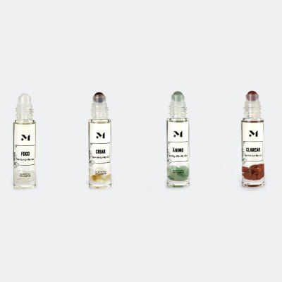 Kit Blend de Óleos Essenciais para mais Concentração - 4 unidades de 10ml