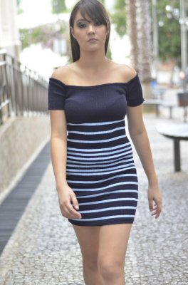 Vestido De Tricot Curto Comprar Barato Online  Atacado