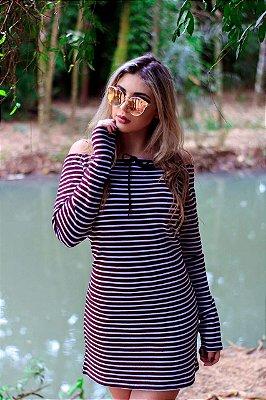 Vestidos De Tricot E Crochê Moda Blogueira RF-042