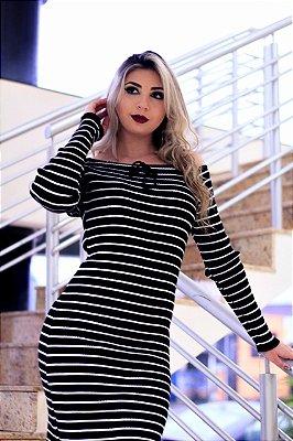 vestido De Tricot 2018 Feminino comprar E revender RF-083