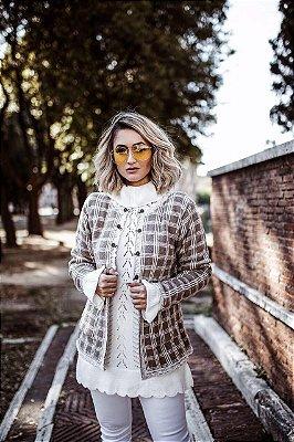 Compra De Malhas Online Tricot Suéter Cardigan