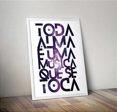 Pôster Toda Alma - Rubem Alves