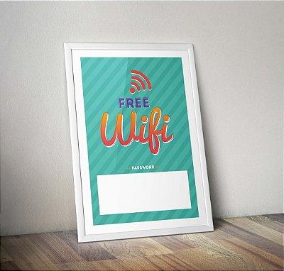 Pôster Wifi Free