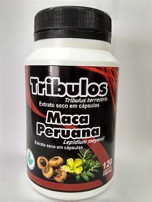 TRIBULLUS COM MACA EXTRATO SECO 120 CAPSULAS