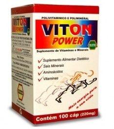 Viton Power Polivitamínico 100 cápsulas 220mg