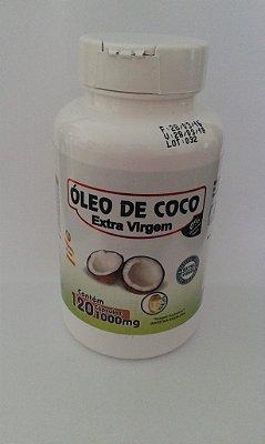 Óleo de Coco (extra virgem) 120 caps 1000mg