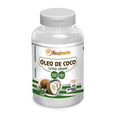 Óleo de coco (extra virgem) 60caps 1000mg