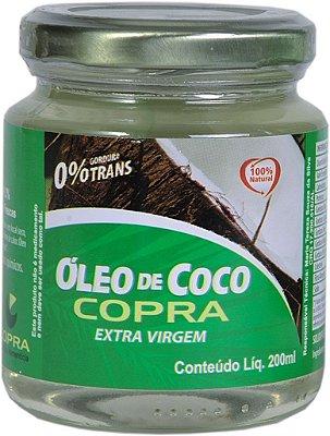 Óleo de Coco Extra Virgem 200 ml