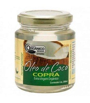 Óleo de Coco Extra Virgem Orgânico 200 ml