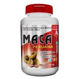 Maca Peruana 120 cápsulas 500mg