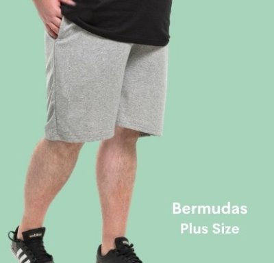 Bermudas Plus Size