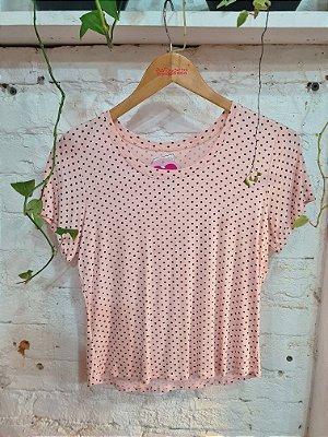 T-shirt poa rosa