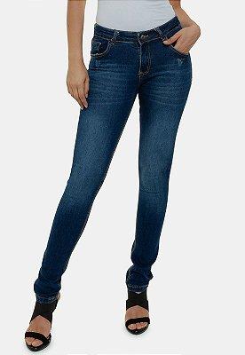 Calça Jeans Preta Skinny Tradicional Suíça