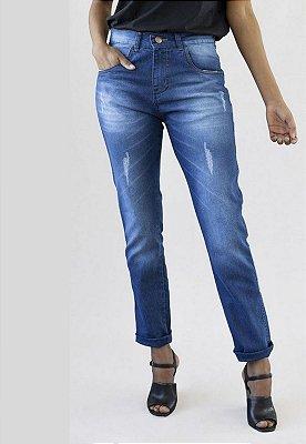 Calça Jeans Boyfriend Azul Chicago