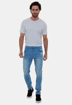 Calça Jeans Masculina Versatti Azul Clara Moscou