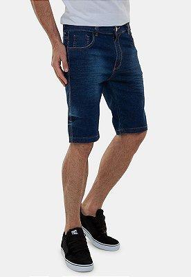 Bermuda Jeans Masculina Tradicional Azul Marinho Italia A20
