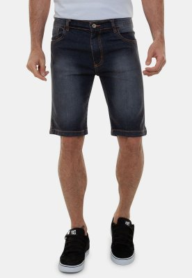 Bermuda Jeans Masculina Tradicional Basica Aruba A20