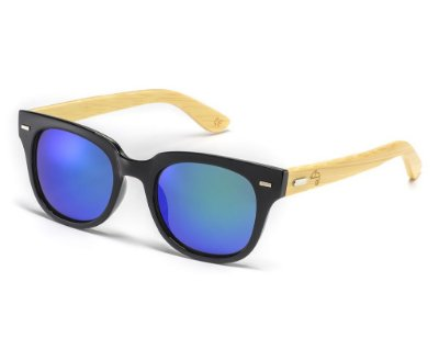 Wayfarer Fit Bamboo Blue-Green
