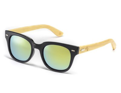 Wayfarer Fit Bamboo Light Blue