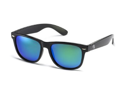 Wayfarer Blue-Green Polarized